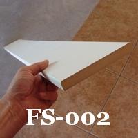 mdf pre-primed flat-stock molding