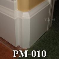 mdf baseboard skirting board molding