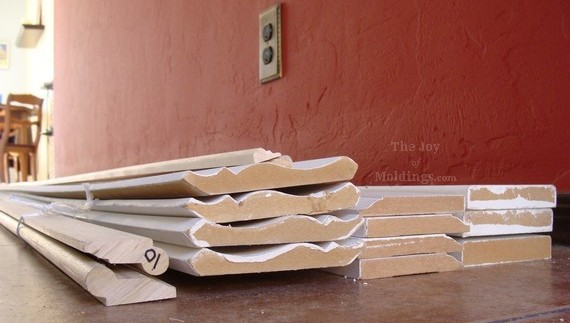 Crown molding material