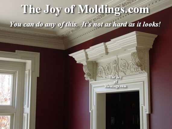 easy to install mdf moldings