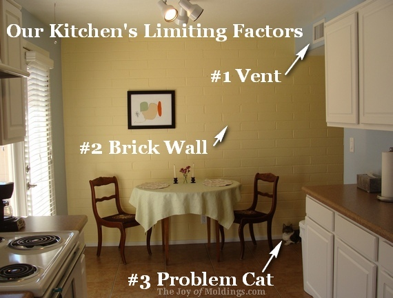 Kitchen Crown Molding Design: Finding the Limiting Factors - The Joy ...