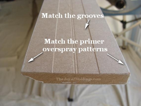 Matching moldings