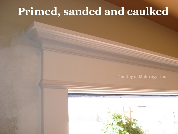 Superior Diy Door Trim Molding Paint