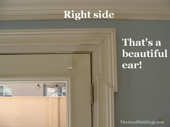 32 how to diy install an eared lugged shouldered for Door architrave