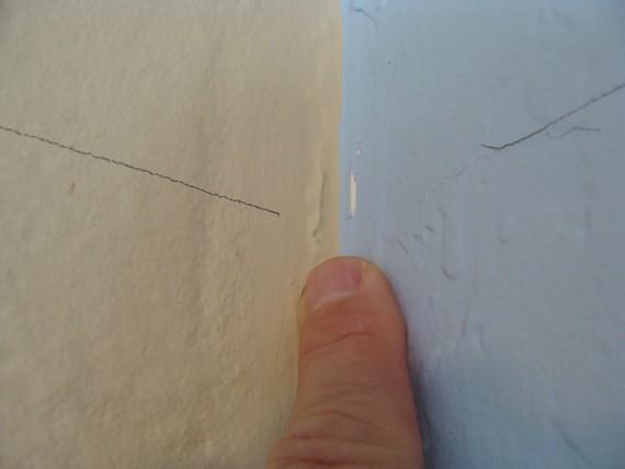 U shaped corner not good for installing crown molding.