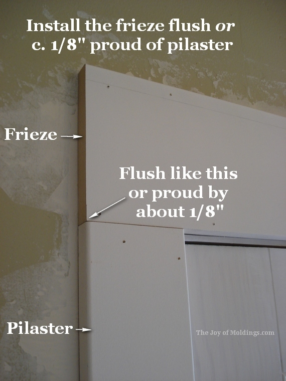 How To Install Door Trim 133 For About 52 84 The Joy Of