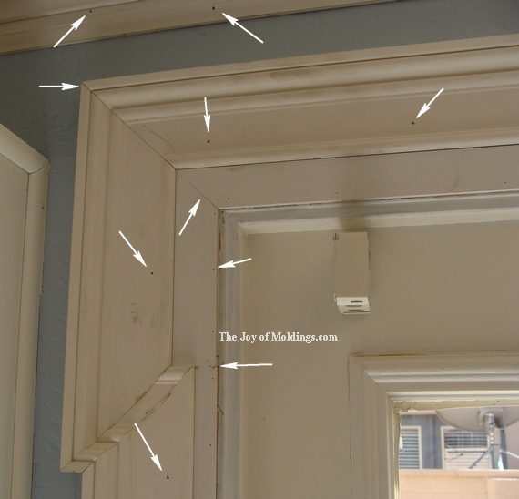 How to paint moldings the joy of moldings for How to paint trim