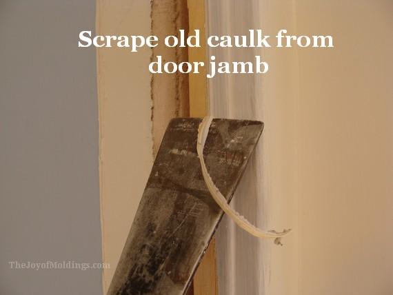 how to install new door trim