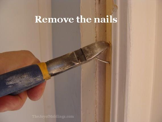 how to install new kitchen door trim