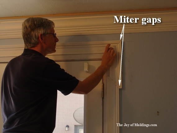 The joy of moldings joy studio design gallery best design for Door gap filler