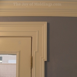 Genial Diy Mdf Door Trim Molding Greek Revival