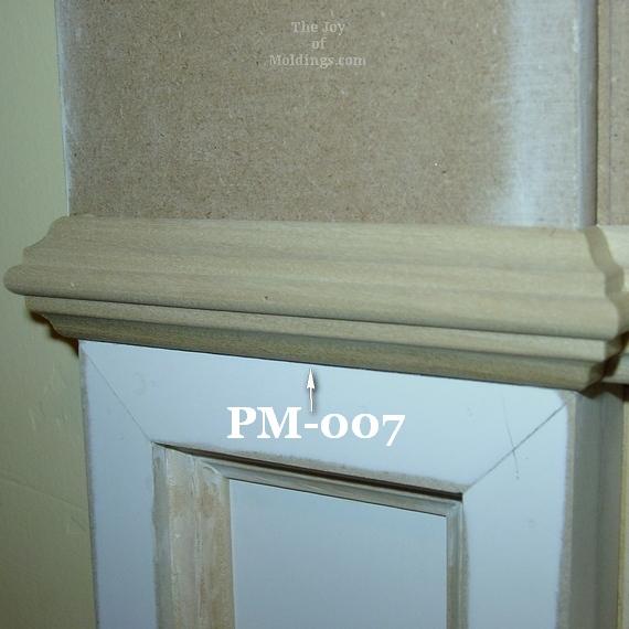 panel molding astragal door trim necking