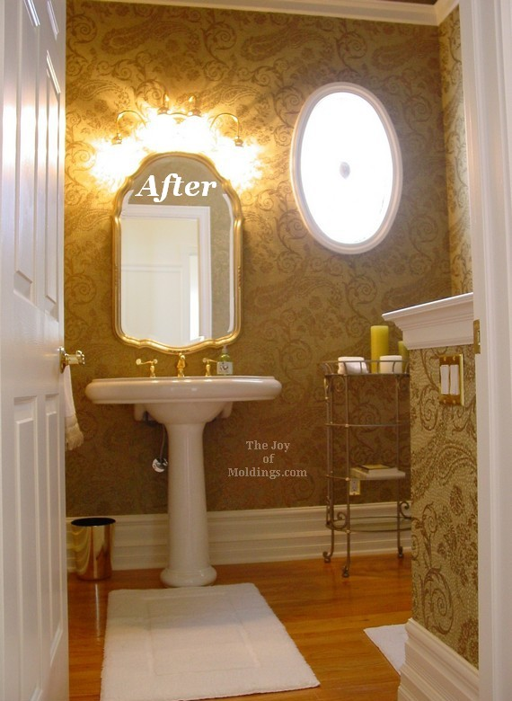After half guest bathroom the joy of for Guest half bathroom ideas