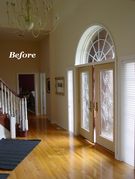 Open Foyer Floor Plan : Before after turn your foyer into a gallery with