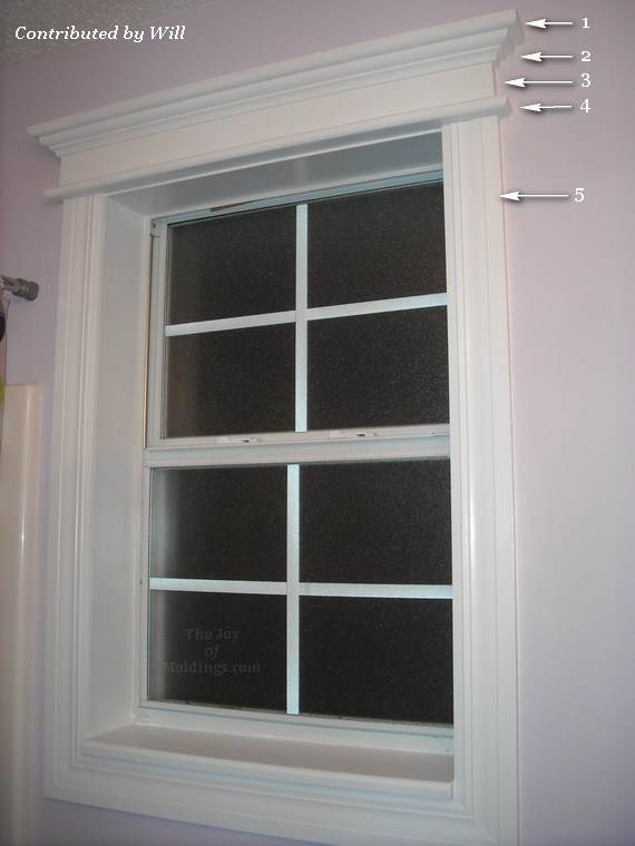Before After Will 39 S Bathroom Window Trim The Joy Of