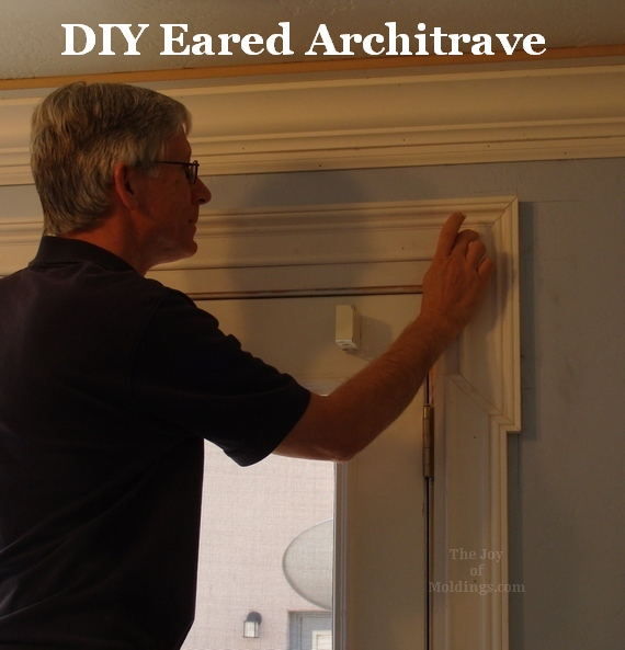 Diy Eared Architrave In Work The Joy Of Moldings
