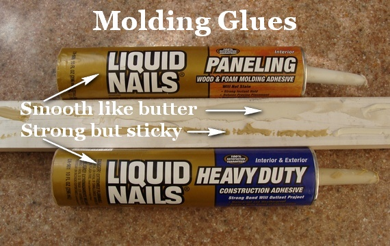 Liquid Nails For Moldings Which Kind Do I Use The Joy