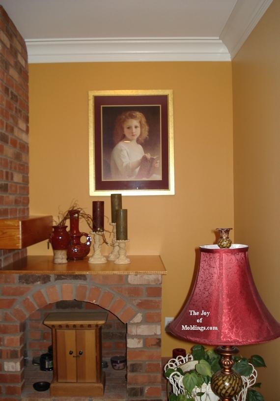 room painted in benjamin moore regal paint