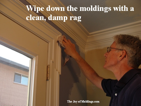 painted moldings