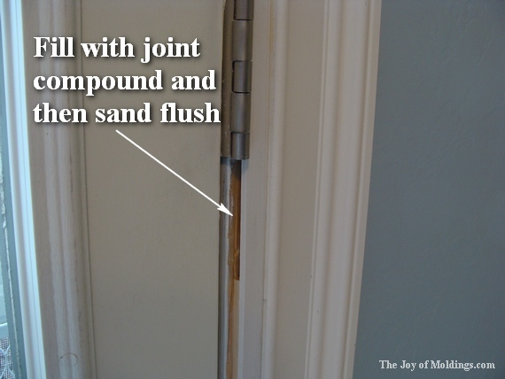 how to paint classical door trim moldings. Black Bedroom Furniture Sets. Home Design Ideas