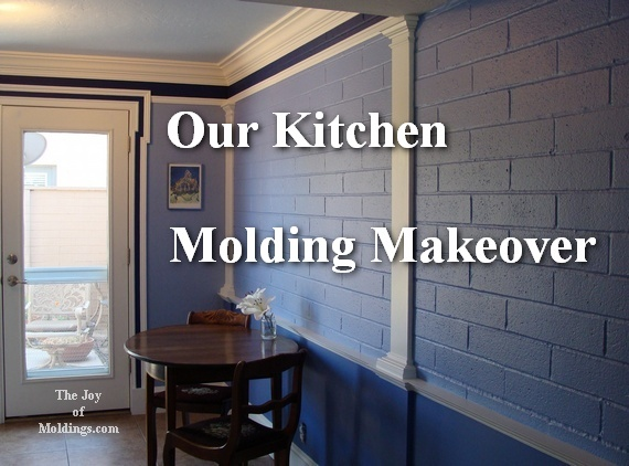 kitchen molding renovation