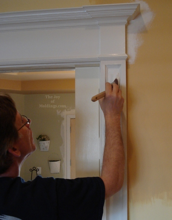 Use paint levelers extenders when painting moldings the for What to paint trim with