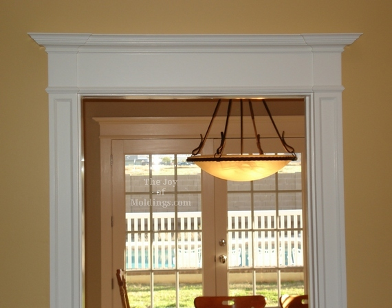 Painted Moldings Diy
