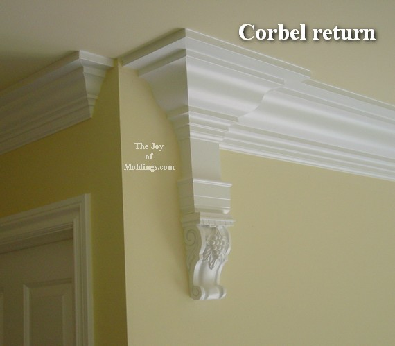 corbel from lowes home improvement moldings