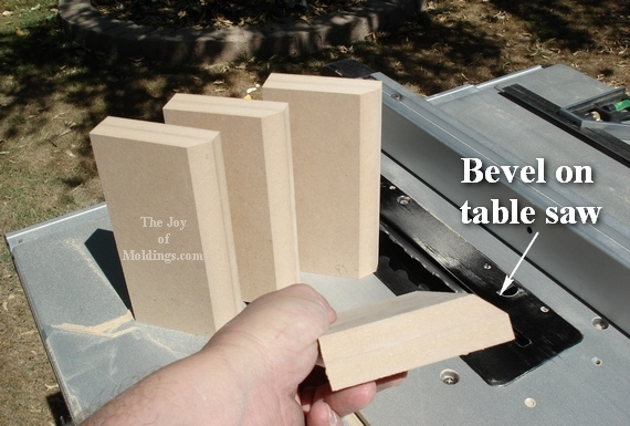 how to make plinth blocks from mdf board