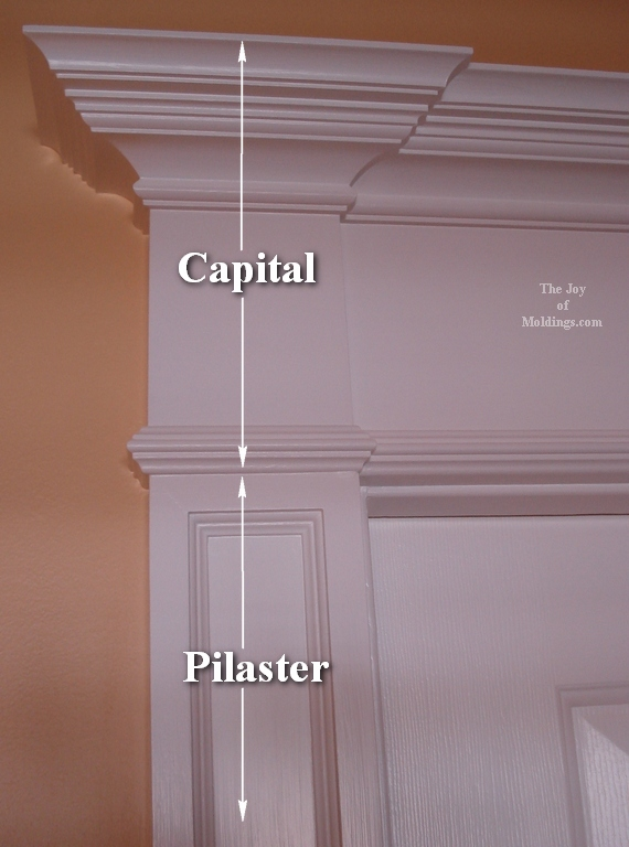 piaster capital & How to Build DOOR TRIM-114 for About $60.00 - The Joy of Moldings.com