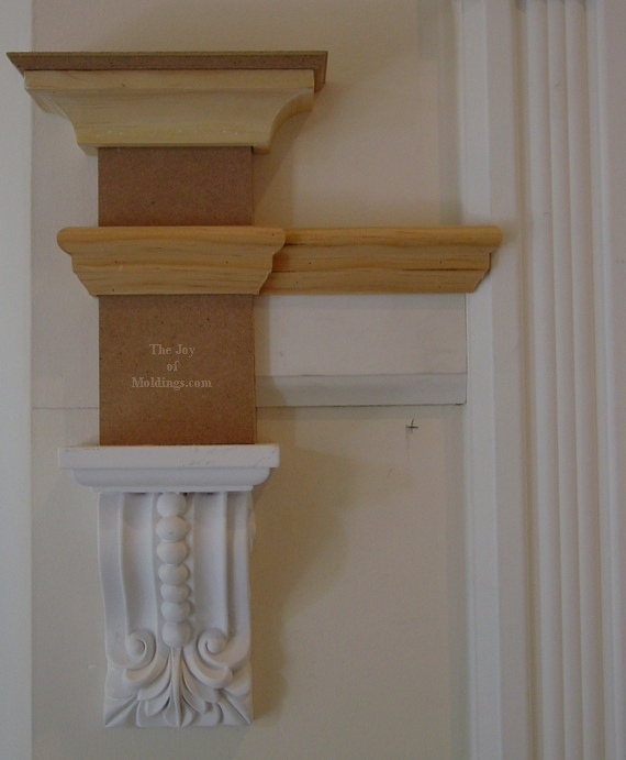 how to install moldings diy