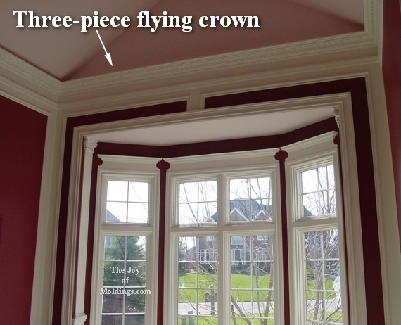How to Install Crown Molding on Vaulted or Cathedral Ceilings - The ...