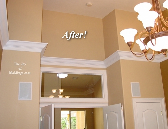 Fabulous How To Install Crown Molding On Vaulted Or Cathedral Ceilings Largest Home Design Picture Inspirations Pitcheantrous