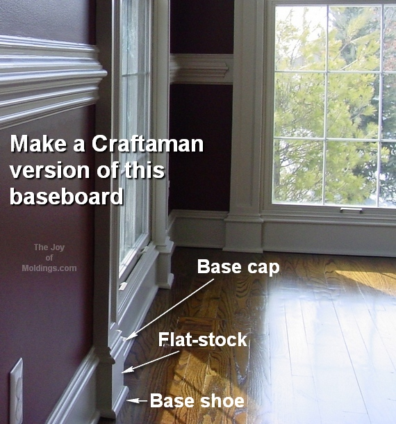 diy interior moldings & How to Transition Wainscoting Baseboard into Door Trim - The Joy of ...