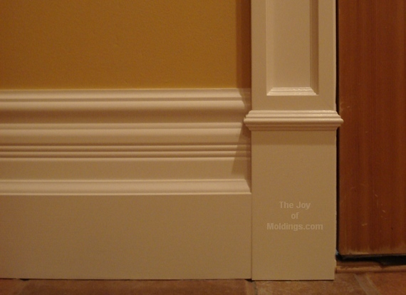 How Do I Make Make This Large Baseboard The Joy Of Moldings
