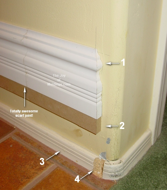How Do I Make This Large Baseboard The Joy Of