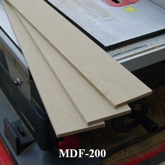 mdf for baseboard moldings