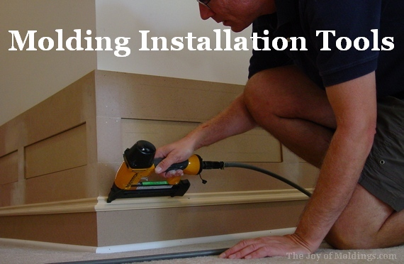 molding trim interior finish carpentry installation tools