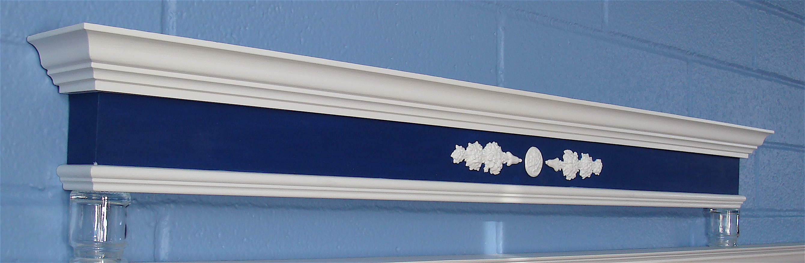 Before & After: Valance Box Frieze Painted Medium and Dark Cameo ...