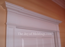 how to build a mdf victorian door header entablature