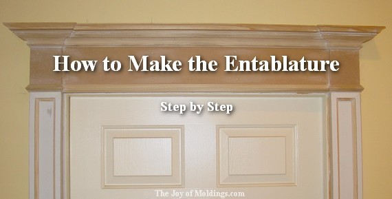 how to build a victorian entablature
