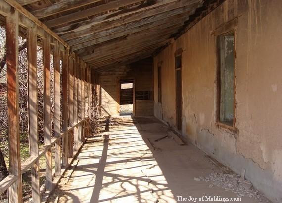 porch on arizona victorian farmhouse
