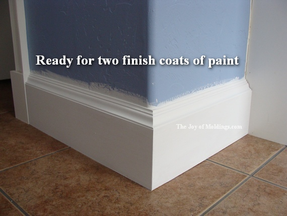 how to install baseboard-110 for $2.00/ft - the joy of moldings