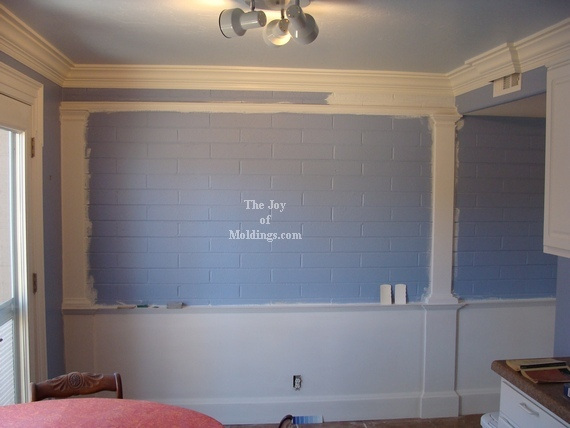 Wainscoting Before And After Pictures