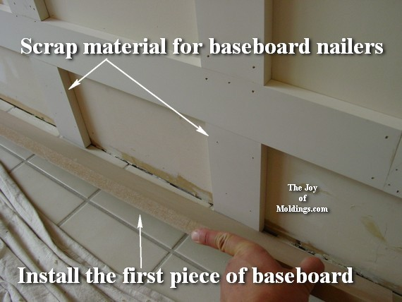 easy diy tall wainscoting