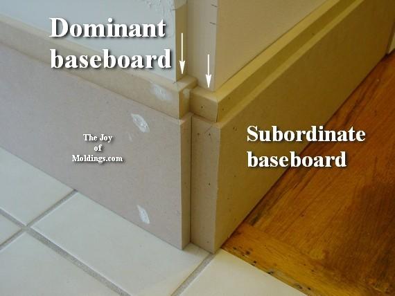 craftsman diy baseboard molding