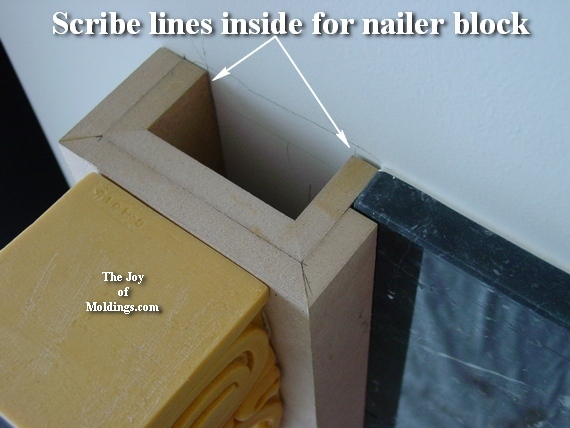 how to install moldings - How To Build FIREPLACE MANTEL-102 Part 2: Make The Pilasters - The
