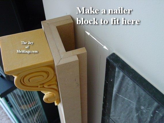 corbel on fireplace - How To Build FIREPLACE MANTEL-102 Part 2: Make The Pilasters - The