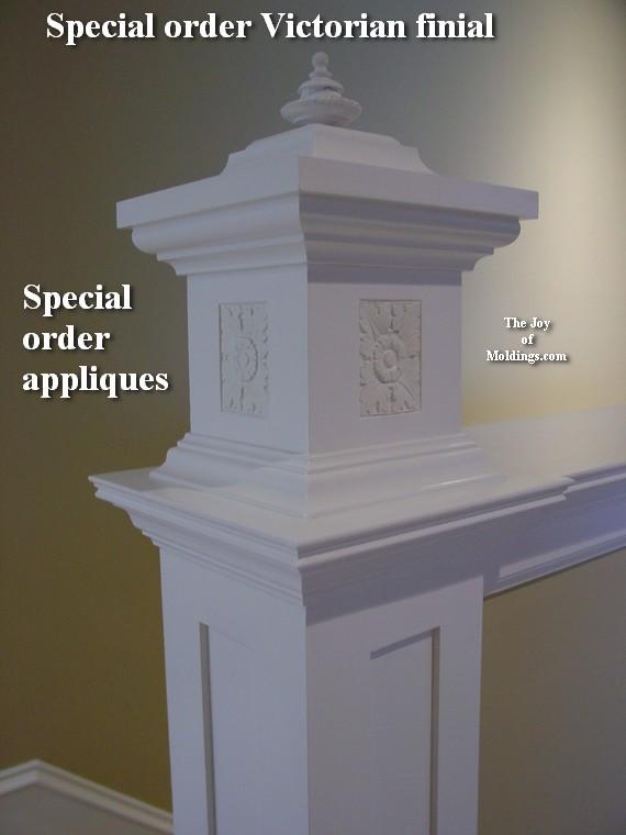 rosette rectangular decorators supply - Pony Wall