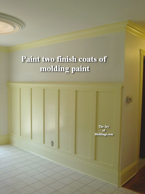 5 Wainscoting 100 Tall How To Paint The Joy Of Moldings
